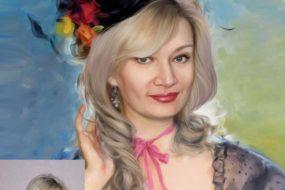 Заказать арт портрет по фото на холсте в Пензе