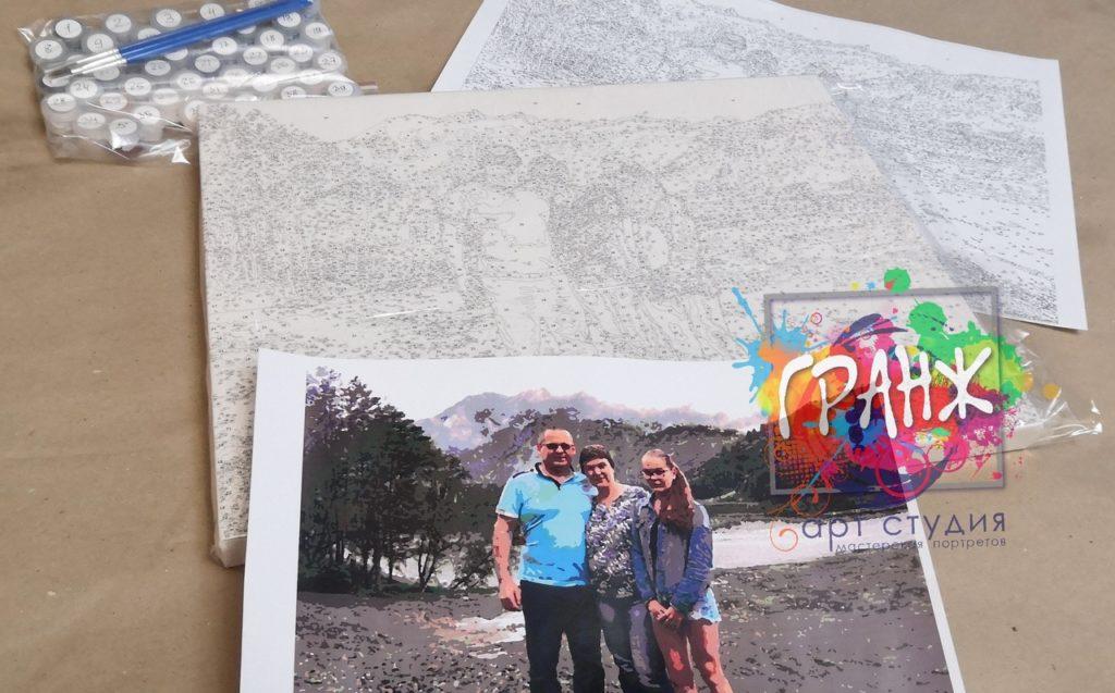 картин по номерам на холсте по фото в Пензе