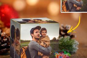 Фотокубик трансформер, купить в подарок Пенза
